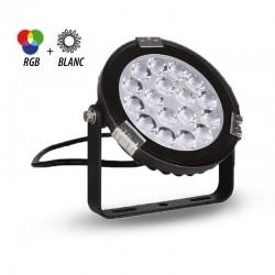 Projecteur LED RGBW 9W IP65