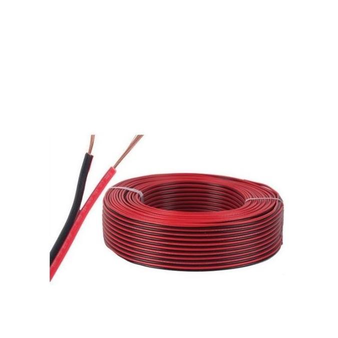 Câble 2 fils 18AWG (au mètre)