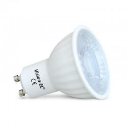 Pack de 10 ampoules LED GU10 6W 75° (9+1 offerte)