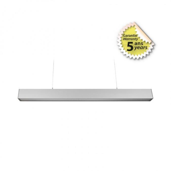 Réglette LED prismatique suspendue 24W 600 mm