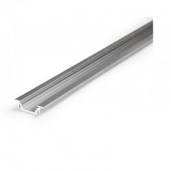 Profilé Aluminium LED Rainuré - Ruban LED 14.4mm