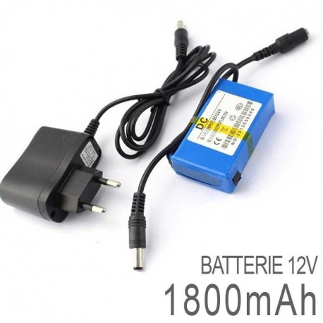 Batterie Rechargeable 12 Volts DC LED