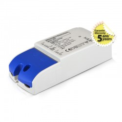 Transformateur Dimmable LED 25W 12 Volts DC