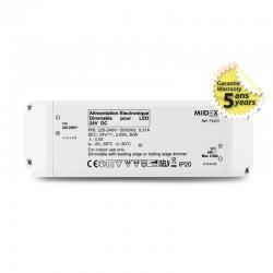 Transformateur Dimmable LED 50W 24 Volts DC