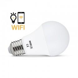 Ampoule LED CCT+RGB Connectée E27 9W