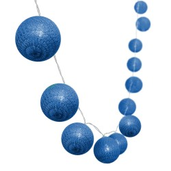 Guirlande décorative MIMY SOLAR Bleu