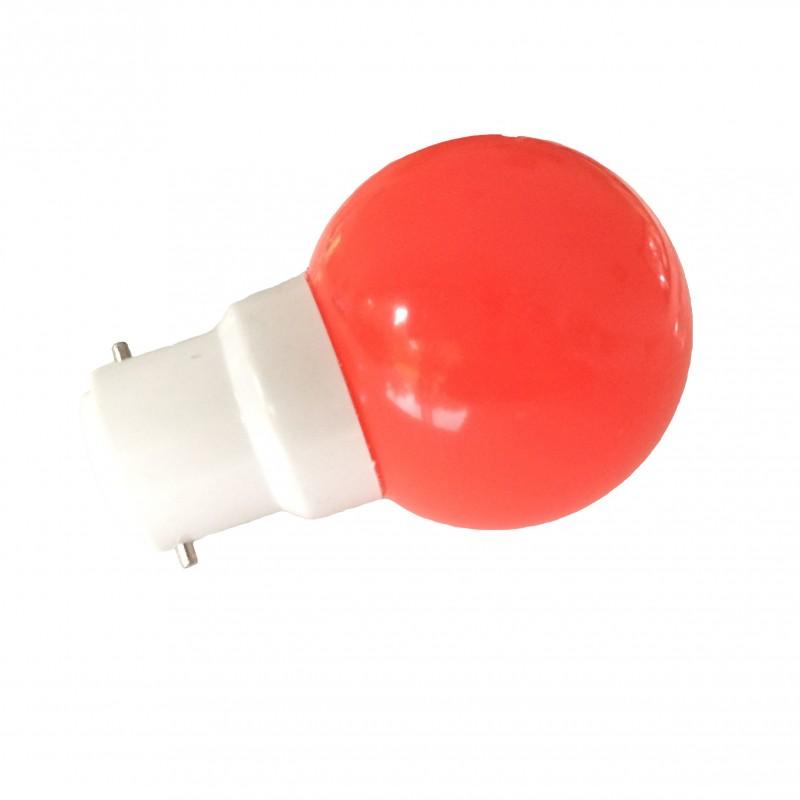Ampoules Lot Extérieure B22 1 15wPour 5w Incassableséquivalence De 12 Rouges Guirlande Led 5j34ARL