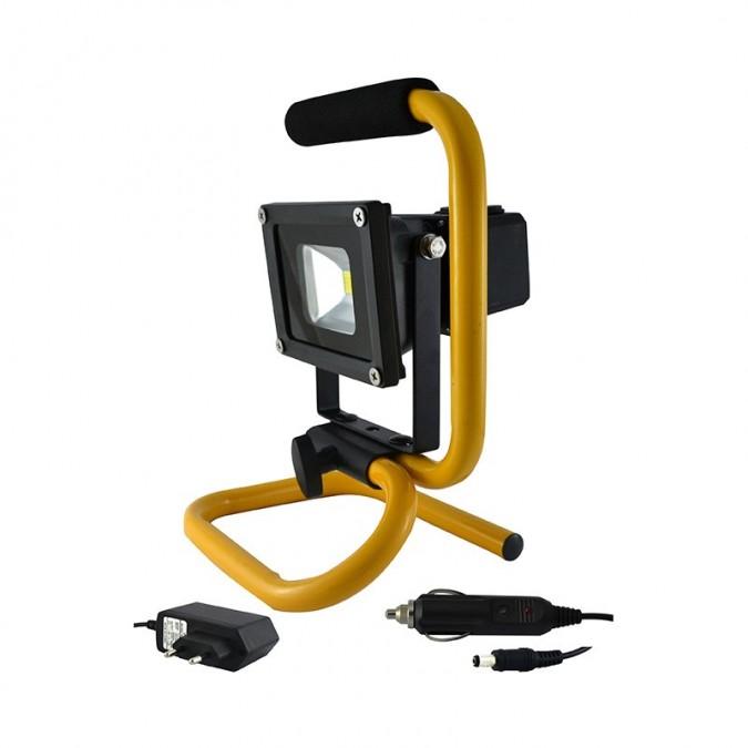 Projecteur de Chantier LED COB 10W Sans-Fil