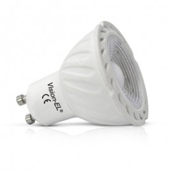 Ampoule LED GU10 5W COB Céramique 38°