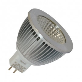 Ampoule LED GU5.3 - 6W COB Aluminium 80° Dimmable