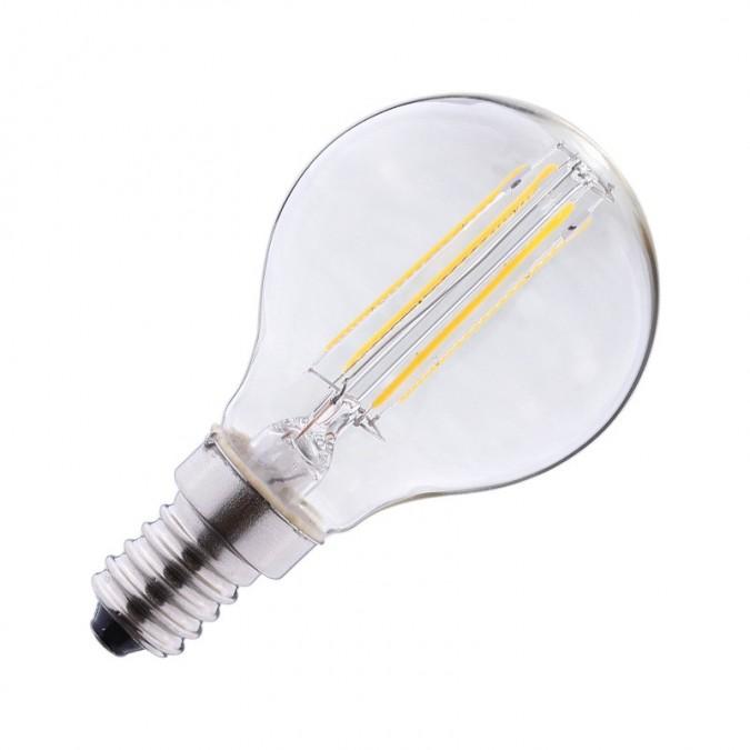 Ampoule LED E14 4W COB Filament P45 (Dimmable)