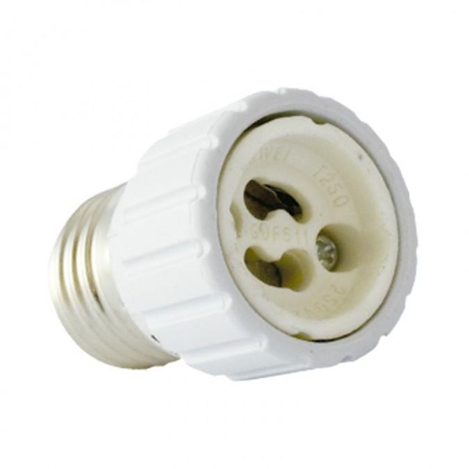 Adaptateur Douille E27 pour ampoule culot GU10