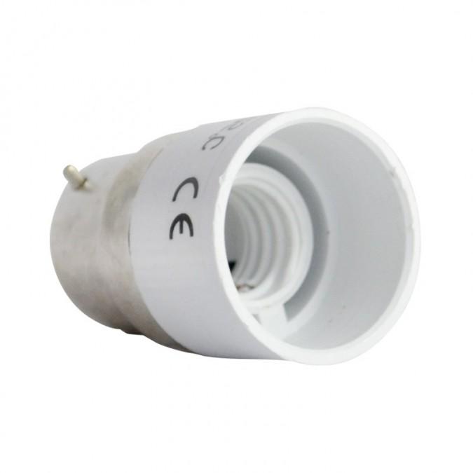 Adaptateur Douille B22 pour ampoule culot E14
