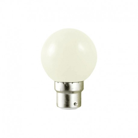 Ampoule LED B22 1W G45 Incassable Vision-EL