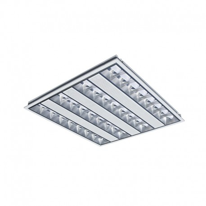 Dalle LED 38 Watts 600x600 mm Basse Luminance