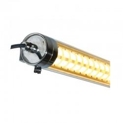 Tubulaire LED intégrées 35W 1500mm Traversant