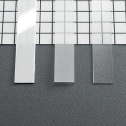 Diffuseur plat 10,2 mm pour Profilé LED Aluminium