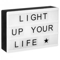 Boîte lumineuse A6 magnétique