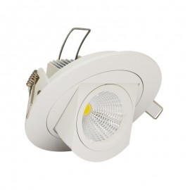 Spot Orientable LED COB Escargot 10W Ep.75 mm