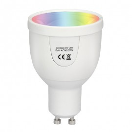 Ampoule LED Connectée GU10 5W RGBW
