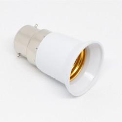 Adaptateur Douille B22 pour ampoule culot E27