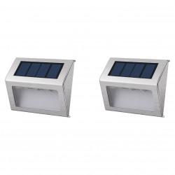 Pack de 2 Appliques LED solaires WALLY