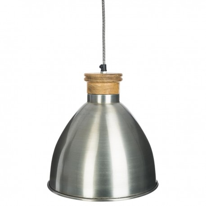 Suspension bronze en métal H26