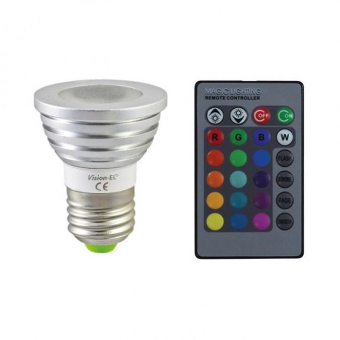 Ampoule 3w E27 RgbBoutique Vision Officielle El® Led CoExerWQdB