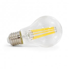 Ampoule LED E27 Bulb 8W COB Filament (Dimmable)