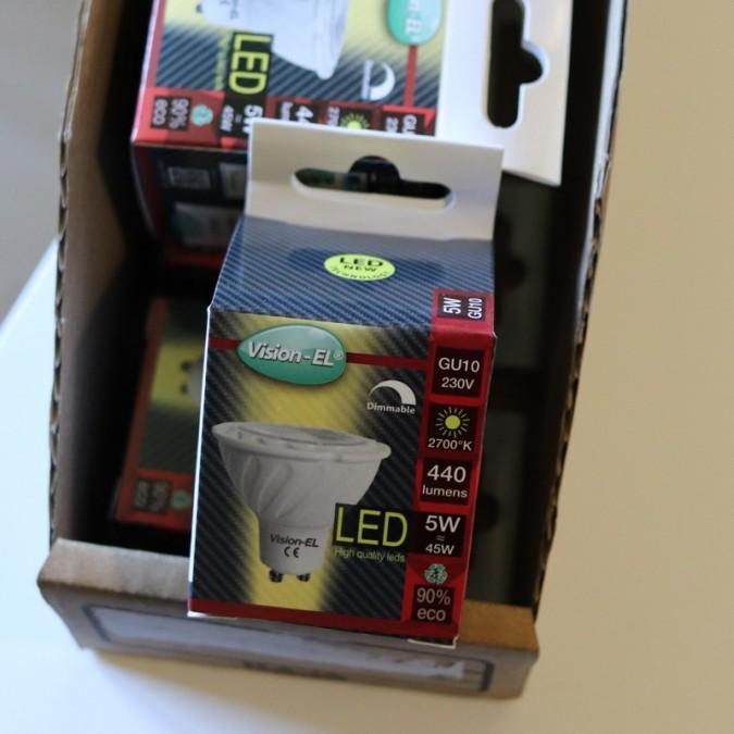 Ampoule LED GU5.3 5W COB 38°