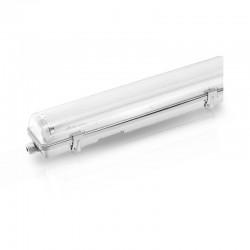 Boitier Réglette Étanche pour Tube LED T8 1200mm