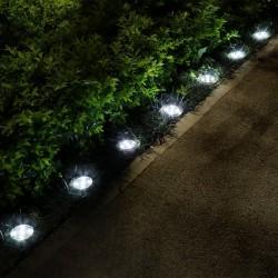 Lot de 2 Spots lumineux LED solaires DECKY