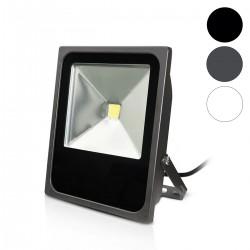 Projecteur LED COB 80W Extérieur IP65 Plat
