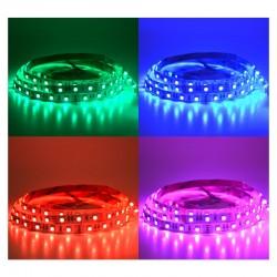 Ruban LED 14,4 Watts /m RGB - Rouleau 5M 12V