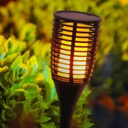 Torche LED imitation flamme Solaire FLAMY SUN