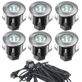 Kit Complet 6 Mini Spots Encastrables 12V LED