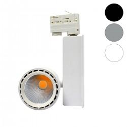 Spot Rond sur Rail LED 40W COB