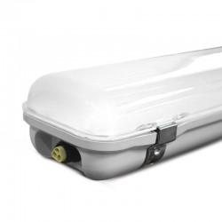 Boitier étanche LED intégrées 48W Traversant + Connecteurs étanches