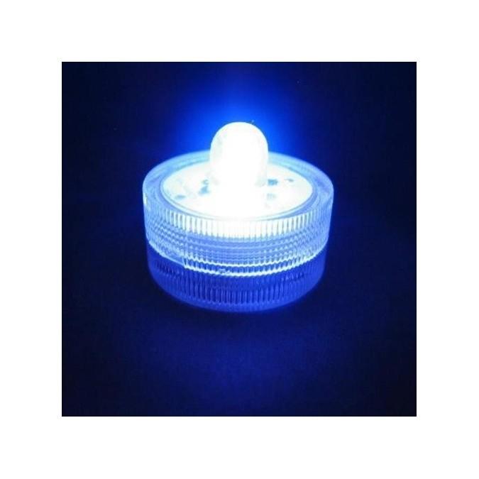 Lot de 10 Lampions LED submersibles bleu