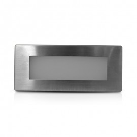 Spot balise 230V rectangulaire encastrable LED 1.5W