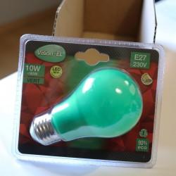 Ampoule LED E27 10W Bulb Vert