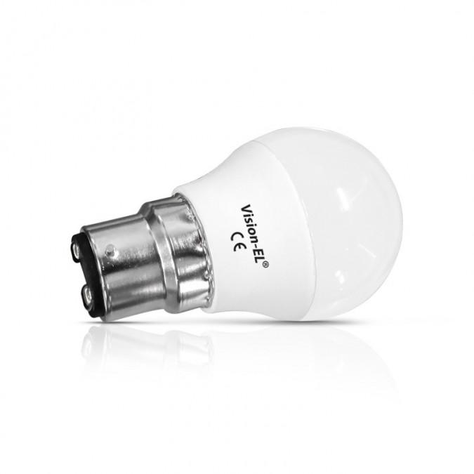 Lot de 2 ampoule LED B22 6W G45