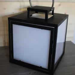 Lanterne lumineuse LED Multicolore rechargeable métal HEAVY