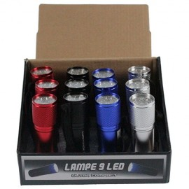Lot de 12 mini Lampe-torche LED