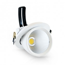 Spot Orientable LED COB Escargot 30W