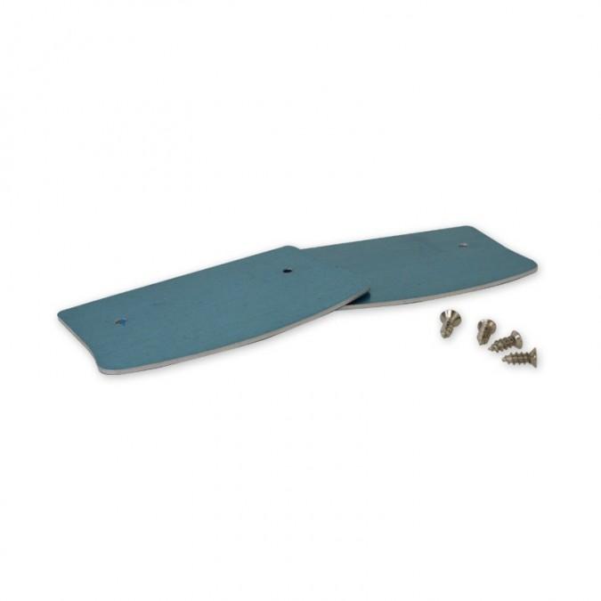 Fixation SKB16 aluminium pour Rail type XTS