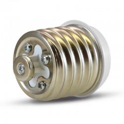 Adaptateur Douille E40 pour ampoule culot E27