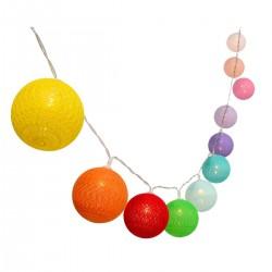 Guirlande décorative MIMY SOLAR Multicolore