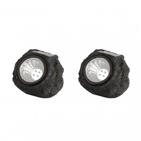 Lampe solaire ROCKY x 2