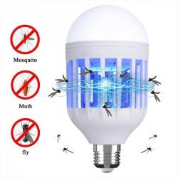 Ampoule LED E27 9W éclairante anti-moustique BULBY MOSKY